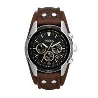 Jam tangan fossil Coachman chronograph Brown