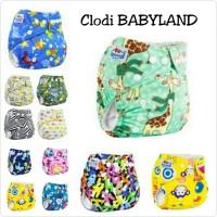 Clodi Babyland +2 insert microfiber(popok kain cuci ulang/clothdiapers