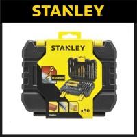 Mata Bor & Mata Obeng Set Stanley 50 pcs Accessories STA88546XJ