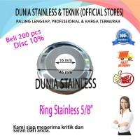 """Ring Stainless 58"""" aksesories stainless steel 201 tangga pintu pagar"""
