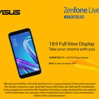 Asus Zenfone Live L1 ZA550KL Ram 216GB Garansi Resmi