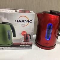 Teko listrik portable harnic heles electric kettle 1.2ltr HL 6208