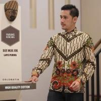 @Kemeja Batik Lengan Panjang Motif Parang Kencana Berkualitas