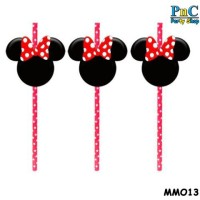Minnie Mouse Accessories For Paper Straw