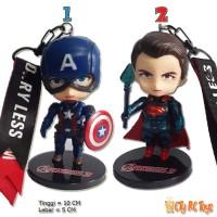 Gantungan Kunci Action Figure The Avengers Unik Murah Berkualitas