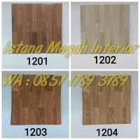 Lantai Vinyl Floor Tile Borneo Motif Kayu