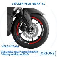 Sticker Velg Nmax Stiker Velg Yamaha Nmax V1