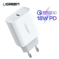 Charger UGREEN 18W Power Delivery 3.0 Fast Charging