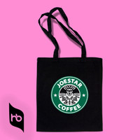 TOTE BAG | JOESTAR COFFE | STARBUCKS PARODY | TOTEBAG
