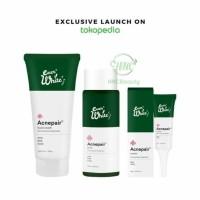 EVERWHITE Acnepair Paket Jerawat 3ea (Acne Cream, Toner, Facial Wash)