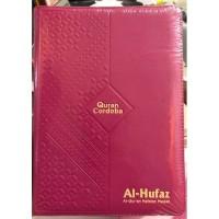 (A5) Al-Quran Hafalan Muslimah Al-Hufaz Jaket Resleting Pink Tua