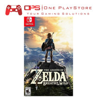 Nintendo Switch Legend of Zelda Breath of Wild