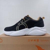 Sepatu Lari/Running Ortuseight Mamba Black Brown 11030068 Original