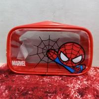 Miniso Spiderman Pouch Toiletries Pencil Case Tempat Make Up Marvel