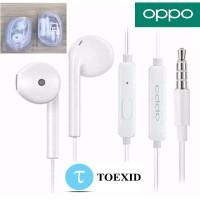 Handsfree Oppo Original F7 F9 A5S F11 A9 A5 2020- Earphone Headser Ori