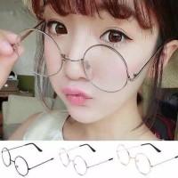 Kacamata Bulat style korea / kacamata fashion kekinian cewek dan cowok