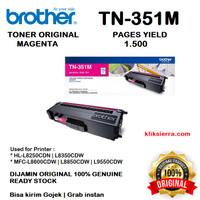 BROTHER Toner TN-351M   TN351M   TN351 M Original Magenta