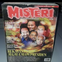 BUKU ORIGINAL - MAJALAH MISTERI EDISI 20 FEBRUARI - 04 MARET 2013