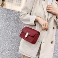 Clutch bag wanita tas selempang mini Korea import
