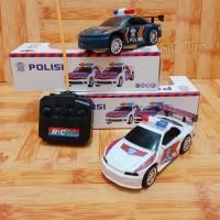 RC Mobil Polisi  Mainan Edukasi Anak Mobil Remot