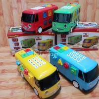 Mainan Bus Tayo Lampu Dan Musik /The Little Bus Versi Indonesia