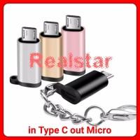 Konverter Type c to Micro Converter Adapter Usb C Female to Micro Male
