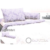 Saputra Bed Cover Set Single Rosal / Bedcover 120x200