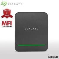 Seagate BarraCuda Fast SSD 500GB USB-C SSD Eksternal