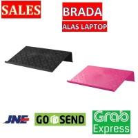 BRADA - Alas Laptop - Hitam / Merah Muda - IKEA - laptop Aksesoris