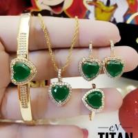 xuping set perhiasan lapis emas 24k 066x