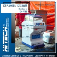 SALE Ice Planner Ice Shaver Mesin Serut Penyerut Es Otomatis FOMAC