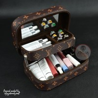 Beautycase / Case makeup / Travel Tas Kosmetik Pouch - LV MONO