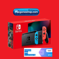 Nintendo Switch Console (Neon Blue/Red) New Version