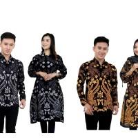 Batik Couple Atasan - Motif Ridwan Kamil - Tunik dan Kemeja