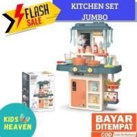 Kitchen Set toys mainan masak masakan spraying Jumbo Premium music new