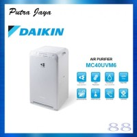 AIR PURIFIER DAIKIN - MC40UVM6 - HEPA Filter - Luas Ruangan 31 m2