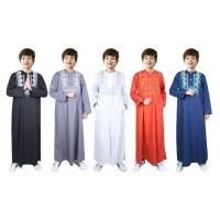 Fayrany FKG-006 Baju Muslim Anak Koko Gamis size 6 - 15 Tahun
