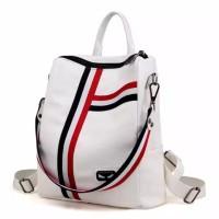 TAS YUKA - Tas Ransel Backpack Korea Fashion(Bs Ransel Bisa Selempang)