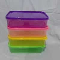 Toples Makanan / Kotak Makan Plastik / Lunch Box / Ompreng Plastik