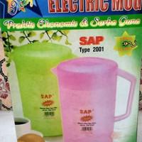 teko listrik plastik kettle SAP- 2001