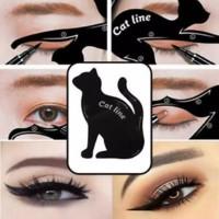 cetakan cat line eye makeup cetakam eyeliner