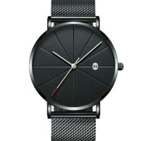 Jam Tangan Pria Waterprof Men Minimalist Quartz Watch