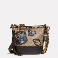 Coach X Disney Duffle 12 In Signature Patchwork Sling Bag - Ori 100%