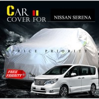 Body Cover Sarung Mobil Cover Mobil Nissan Serena Polyesther Waterproo