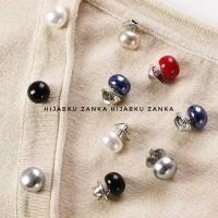 Paling Terpopuler Bros Pin Kancing Hijab Cardigan Jaket Baju Set 7Pcs
