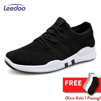 Leedoo Sepatu Sneakers Pria Import Running Shoes Young Lifestyle EE01