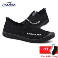 Leedoo Sepatu Pria Sepatu Slip On Pria Sepatu Casual Pria MR209