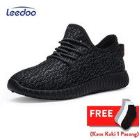Leedoo Sepatu Sneakers Pria Import Running Shoes Young Lifestyle MR207