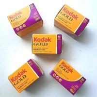 Kodak Film Gold 200 Roll Filem camera 35mm 200/36 isi 36 bukan Fuji