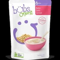 Hot List Bubur Bayi Bubs Organic Baby Oats Cereal 6 Months Australia